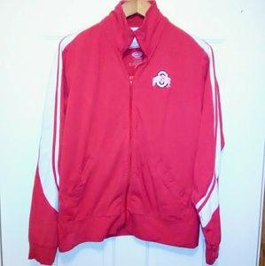 Jackets & Blazers - OSU, Womens, Vintage, Track, Warm-up Jacket. XL